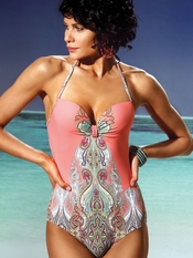 Jolidon Indian Summer Padded One Piece Swimsuit - On Sale