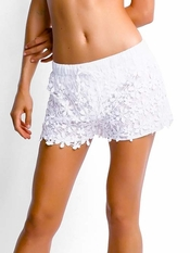 Seafolly White Dash Short