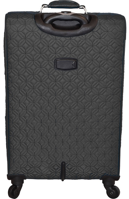 Adrienne Vittadini Quilted 4 Piece Lightweight Luggage Set