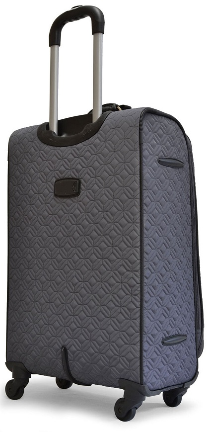 Adrienne Vittadini Quilted 4 Piece Luggage Set Adrienne