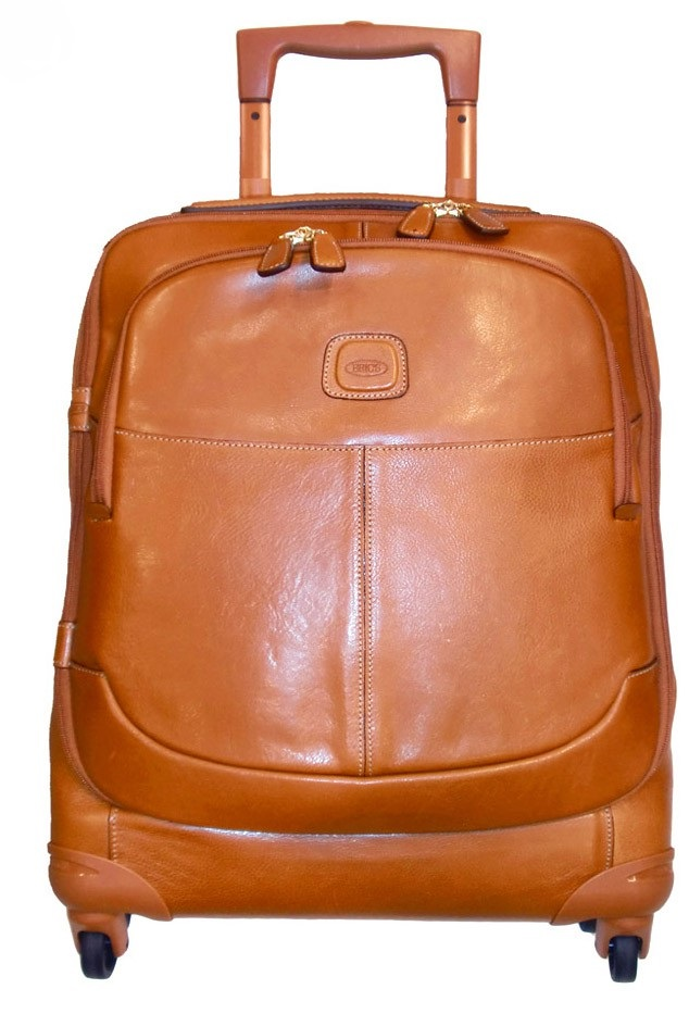 Bric S Life Pelle 21 Quot Carry On Spinner Carry On Luggage