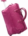 "Lipault Paris 2-Wheeled 20"" Satchel (Fuschia)"