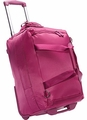 "Lipault Paris 20"" Foldable 2 Wheeled Duffle Bag (Fuschia)"