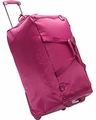 "Lipault Paris 27"" Foldable 2 Wheeled Duffle Bag (Fuschia)"