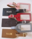 FREE MONOGRAMMED LEATHER LUGGAGE TAG!