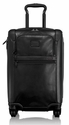 "Tumi Alpha ""2"" International Expandable 4-Wheeled Leather Carry-On"