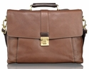 Tumi Beacon Hill Cambridge Flap Leather Brief