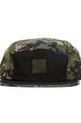 Digi-Camo Colourblock 5-Panel Cap