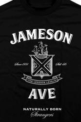 Jameson Ave: Naturally Born Strangers Edition Long Sleeve Tee