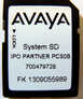 IP Office IP500V2 Partner SD Card New