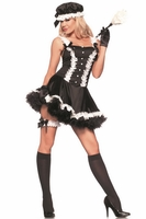 5th Avenue Maid Sexy 4 PC Costume