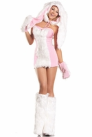 Blushing Bunny Sexy 6 PC Costume