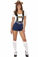 Bodacious Beer Babe Sexy 4 PC Costume