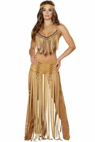 Cherokee Hottie Sexy 3 PC Costume