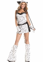 Darling Dalmatian Sexy 8 PC Costume