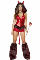 Deliciously Devilish Sexy 5 PC Costume