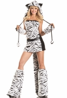 Deluxe Tasty Tiger Sexy 8 PC Costume
