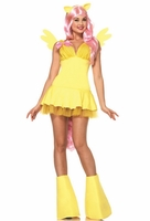 Fluttershy Sexy 6 PC Costume