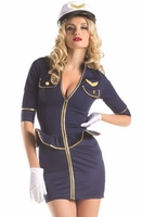 Fly Me Pilot Sexy 2 PC Costume