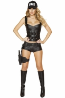 Hot SWAT Baby Sexy 2 PC Costume