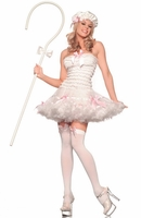 Lil Bow Peep Sexy 3 PC Costume