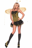 Lil Bumble Bee Sexy 3 PC Costume
