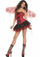 Lil Lady Bug Sexy 2 PC Costume