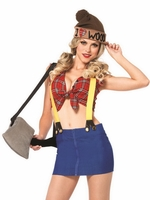 Lumber Jackie Sexy Costume