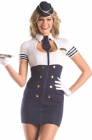 Mile High Service Sexy 3 PC Costume