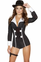 Mischievous Mobster Babe Sexy Costume