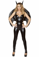 Miss Lady Bat Sexy 2 PC Costume
