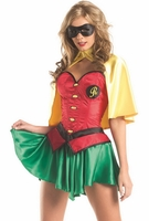 Miss Robin Sexy 5 PC Costume