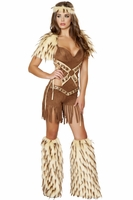 Native American Warrior Sexy 2 PC Costume