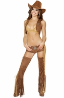 Naughty Western Sheriff Sexy 5 PC Costume