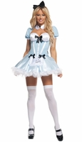 Party Girl Alice Sexy 3 PC Costume
