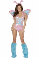 Pastel Butterfly Sexy Costume