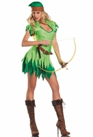 Peter Pan/Robin Hood Sexy 3 PC Costume