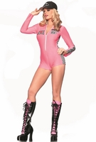 Pink Racer Sexy 2 PC Costume