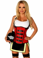 Plus Size Top Drawer Five Alarm Firegirl Sexy Costume