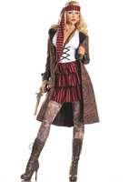 Provocative Pirate Sexy 3 PC Costume