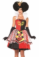 Queen Of Hearts Sexy 3 PC Costume