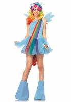 Rainbow Dash Sexy 6 PC Costume