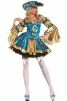 Royal Antoinette Sexy 4 PC Costume