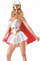 Ruby The Warrior Sexy 5 PC Costume