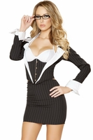 Sassy Secretary Sexy 3 PC Costume