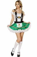 Sexy Hoffbrau Lady 2 PC Costume