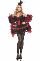 Speakeasy Saloon Girl Sexy 2 PC Costume