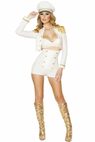 Sultry Sailor Babe Sexy 3 PC Costume