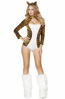 Sultry Tigress Sexy Costume