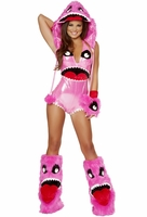 Sweetie Pink Monster Sexy Romper